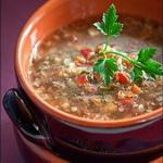 Русский гречневый суп
