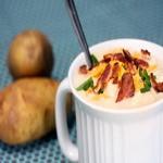 Суп картофельный с судаком