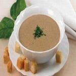 Суп-пюре из телячьей печёнки