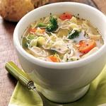 Суп – лапша с ветчиной, по-итальянски