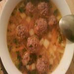 Фрикадельки в картофельном супе