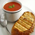 Суп с печеными овощами (средиземноморский)