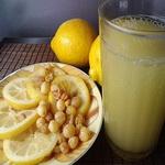 Лимонный квас с мёдом
