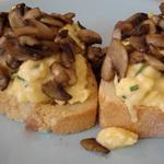 Бутерброды со сморчками