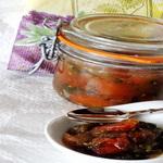 Конфитюр из помидоров черри с базиликом