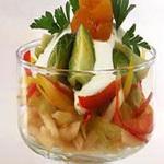 Салат из белокочанной капусты и яблок
