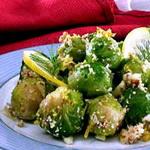 Салат из брюссельской капусты под маринадом