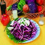 Салат из краснокочанной капусты по-польски