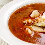 Суп капустный с рыбным филе
