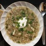 Суп — похлёбка из свежих боровиков
