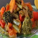 Гарнир из тушеных овощей