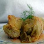 Голубцы из свежей капусты с рыбой, по-латвийски
