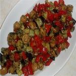 Заготовка для салатов из баклажанов
