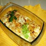Савойская капуста, запеченная со сливками
