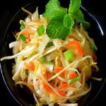 Салат из квашеной капусты с морковью