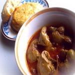 Телячья печенка под пикантным соусом