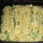 Запеченные с сыром кабачки