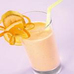 Коктейль апельсиновый со сливками