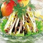 Мясной салат «Прага»