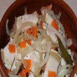Рецепт приготовления маринованного сала за 1 час