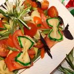 Салат «Лигурийский» с бараниной
