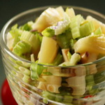 Салат из сельдерея с ананасами