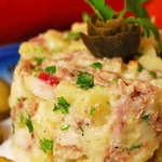 Салат с телятиной, по-словенски