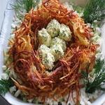Салат – закуска «Кукушкино гнездо»