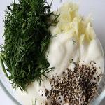Салат из редьки с простоквашей