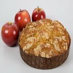 Запеканка из черствого хлеба с яблоками
