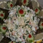 Салат из фасоли со шпротами
