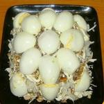 Салат из яиц с булгуром