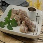 Закуска из зельца с соусом «Ремулад»