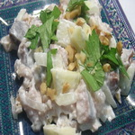 Салат из сельди с орехами