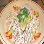 Салат из сома, по-македонски