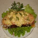 Горячие бутерброды с чесноком и сыром
