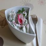Редис с творогом (салат)