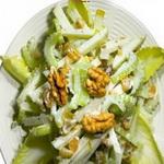 Салат из корня сельдерея с яблоками