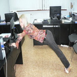 «Производственная гимнастика» (для занятых дам)