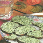 Бутерброды с фаршем из редиса