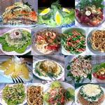 История салатов и салатов-закусок