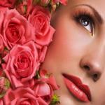 Маски из лепестков роз