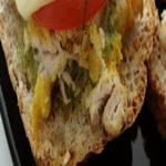 Бутерброды с сырным маслом