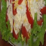 Салат из помидоров и риса