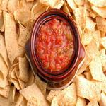 Сальса томатная, с огурцами