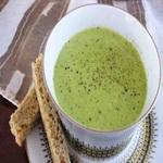 Суп из петрушки (холодный)