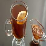 Медовый чай с лимоном