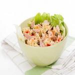 Салат из фузилли и телятины