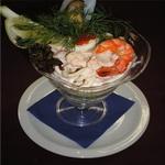 Салат – коктейль из морепродуктов