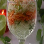 Салат – коктейль из сырых овощей